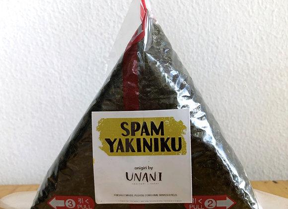 Spam Yakiniku Onigiri