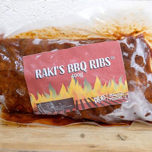 Frozen Raki's BBQ Ribs (400g)