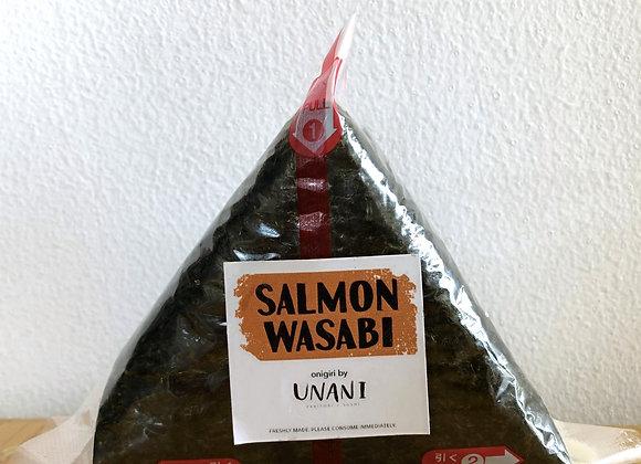 Salmon Wasabi Onigiri