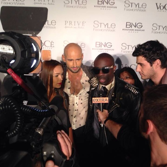 Red Carept with Sam Sarpong and Vanessa