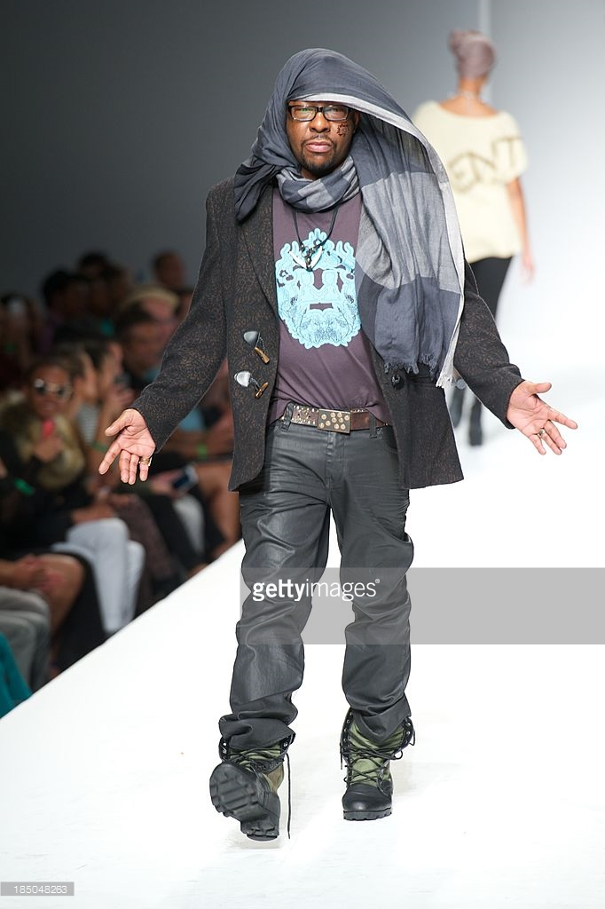 Michael Herrera - Celebrity Guest Model - Bobby Brown