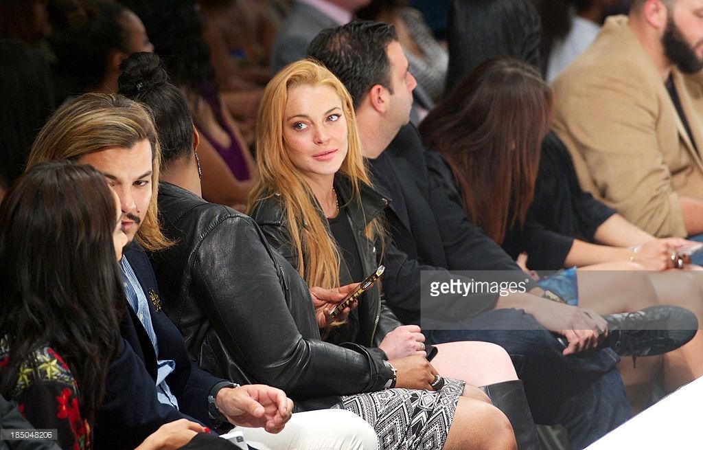 Michael Herrera - Guest Seating - Lindsay Lohan