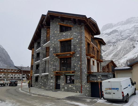 Construction d'hôtels 4* Val d'Isère