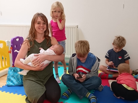 New daytime classes with onsite child supervision