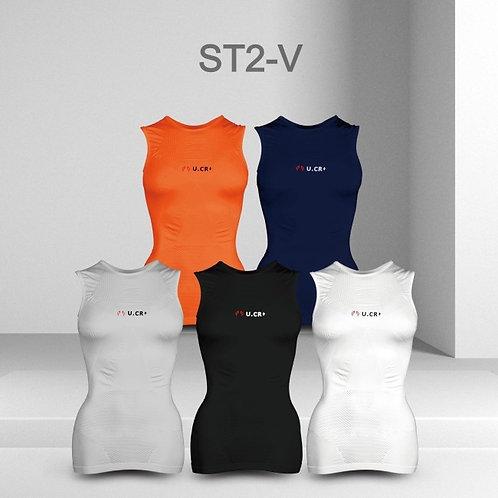 U.CR+ ST2 PP  vest - PP壓力運動衣機能性超輕量無縫背心