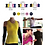 Thumbnail: U.CR+ ST1 - ice cafe compression sportswear short sleeve