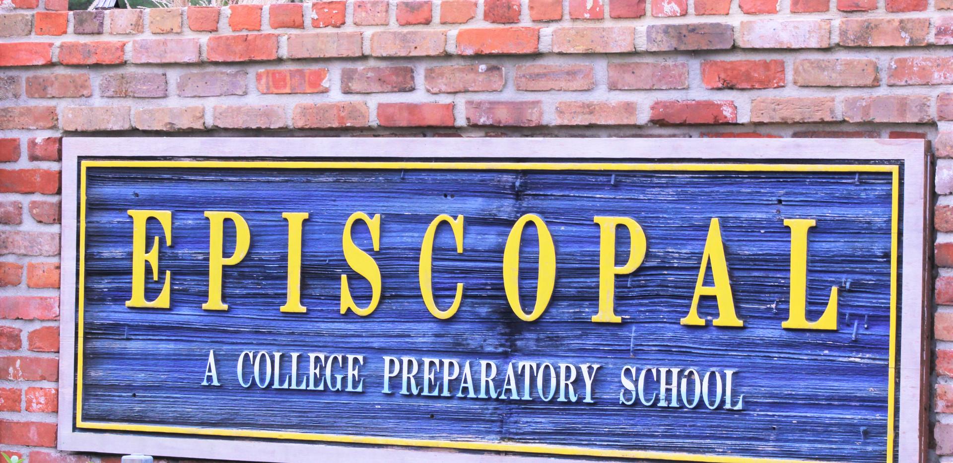 episcopal sign front of school.JPG