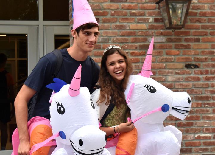 meredith homecoming week unicorns.JPG