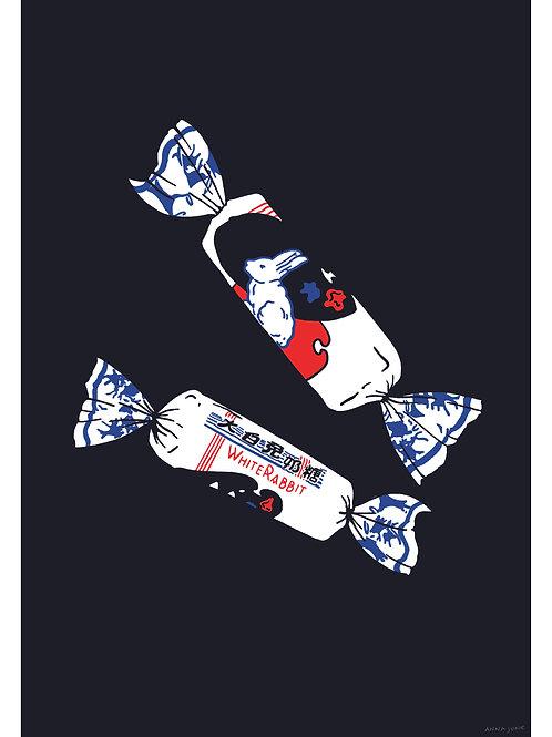 Print White Rabbit