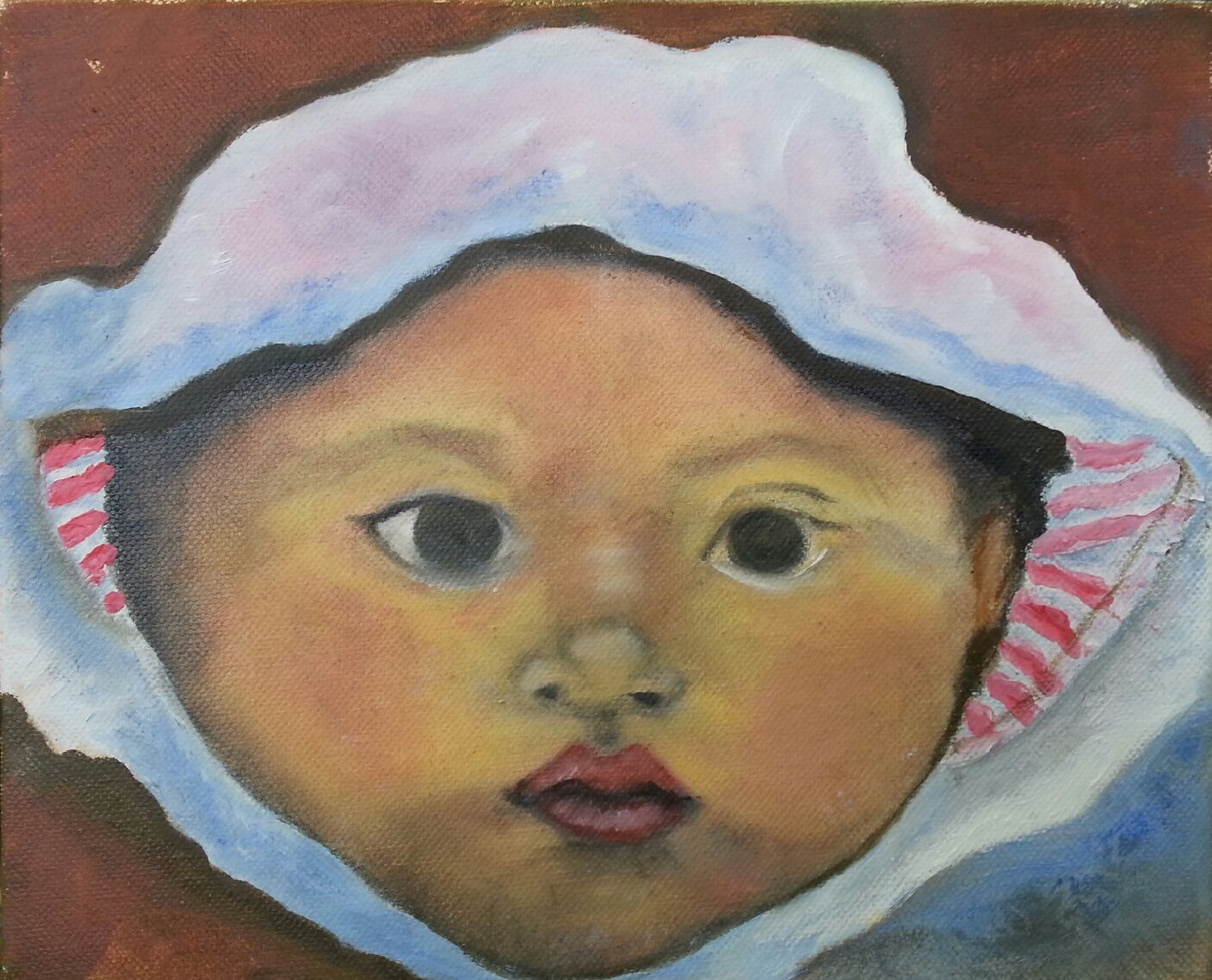 Baby in Bonnet