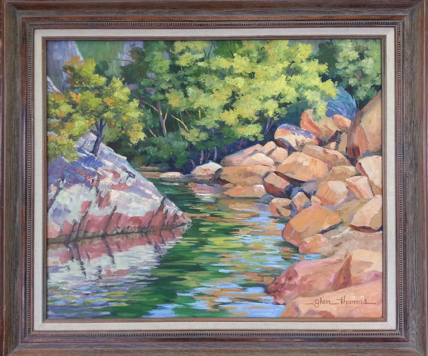 Wichita Mountain Stream  $750