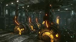 Abandoned Sci Fi Spaceship