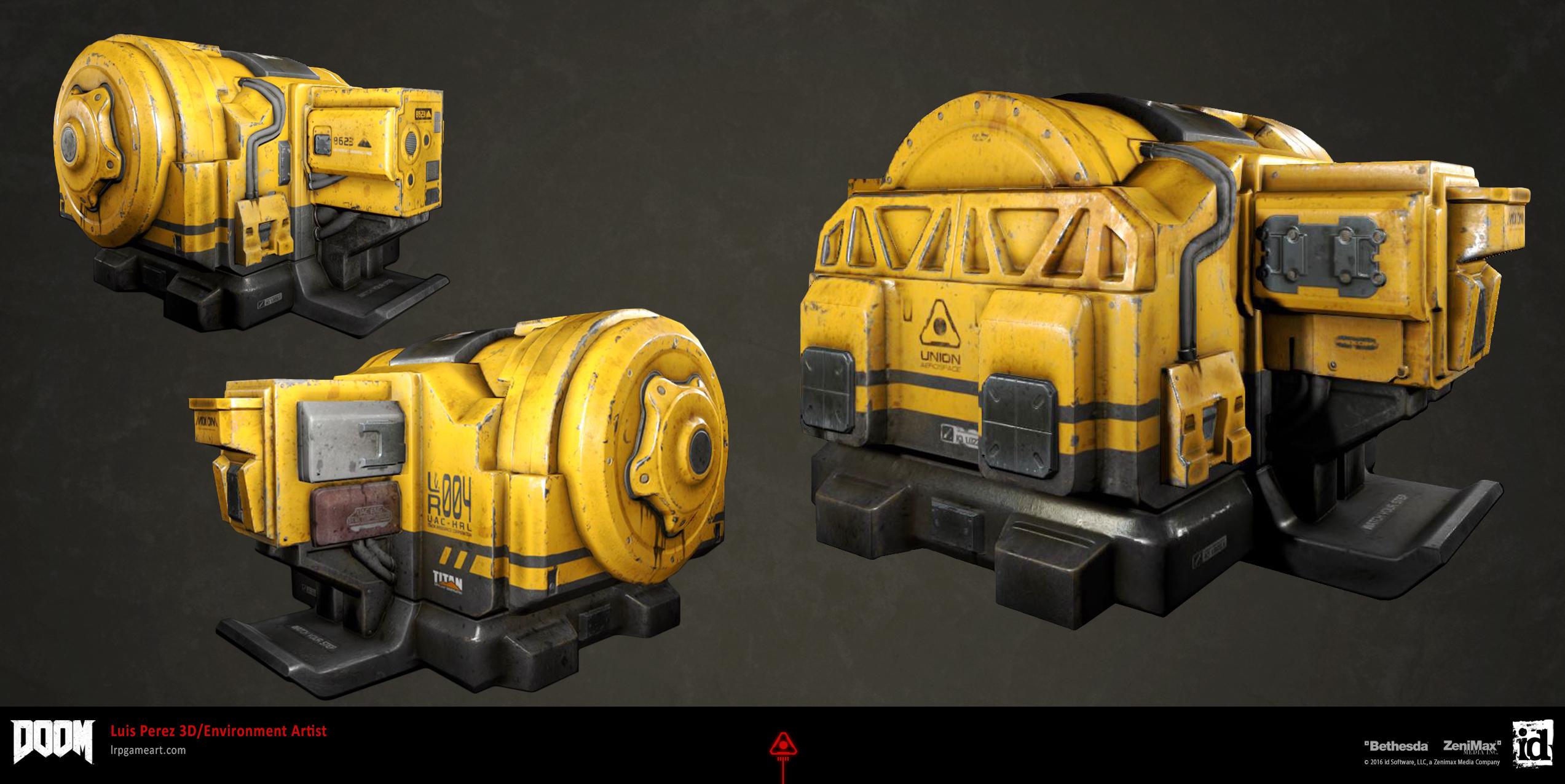DOOM: Engine Prop