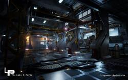 Sci-Fi Mech Hangar