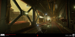 DOOM: Argent Facility Exterior Hall