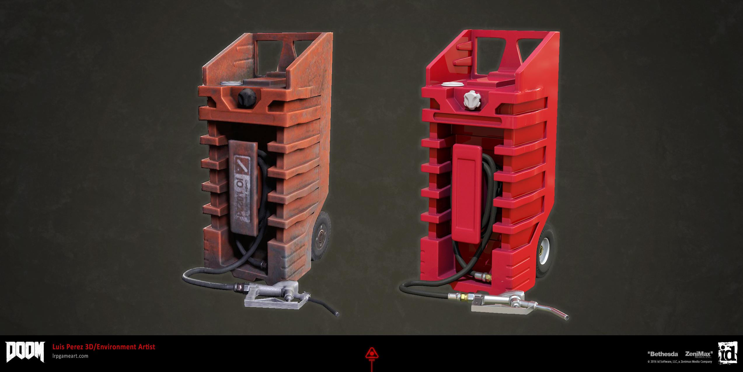 DOOM: Fuel Container Prop