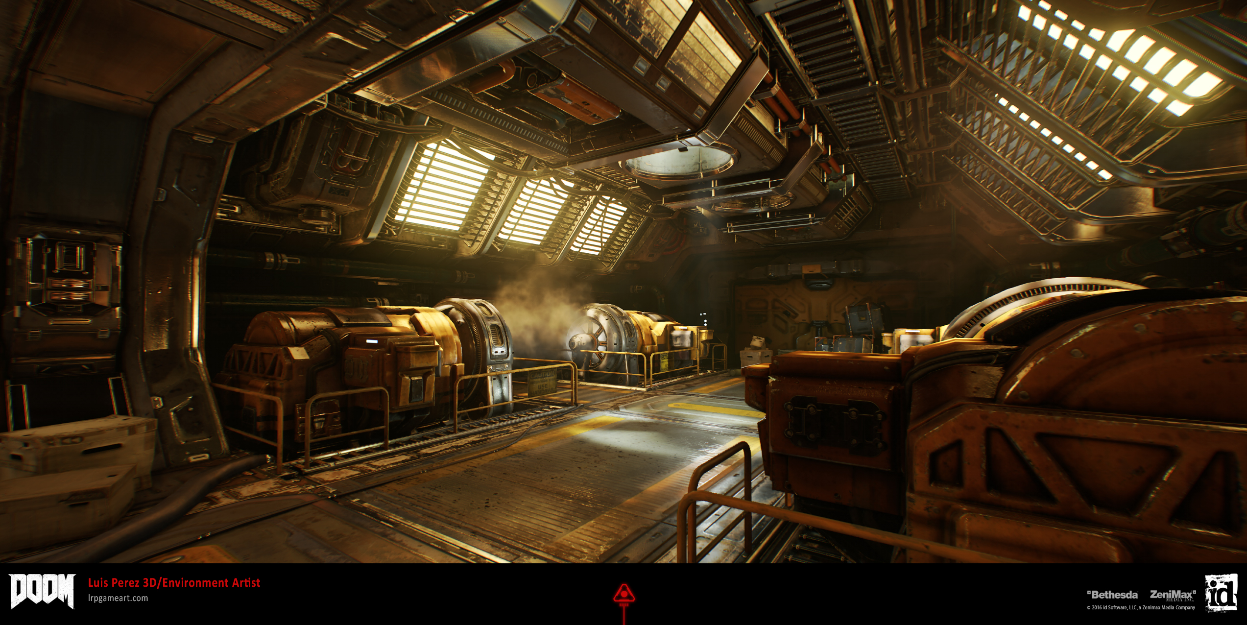 DOOM: Argent Facility Engine Room