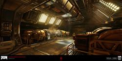 DOOM: Argent Facility Engine Room