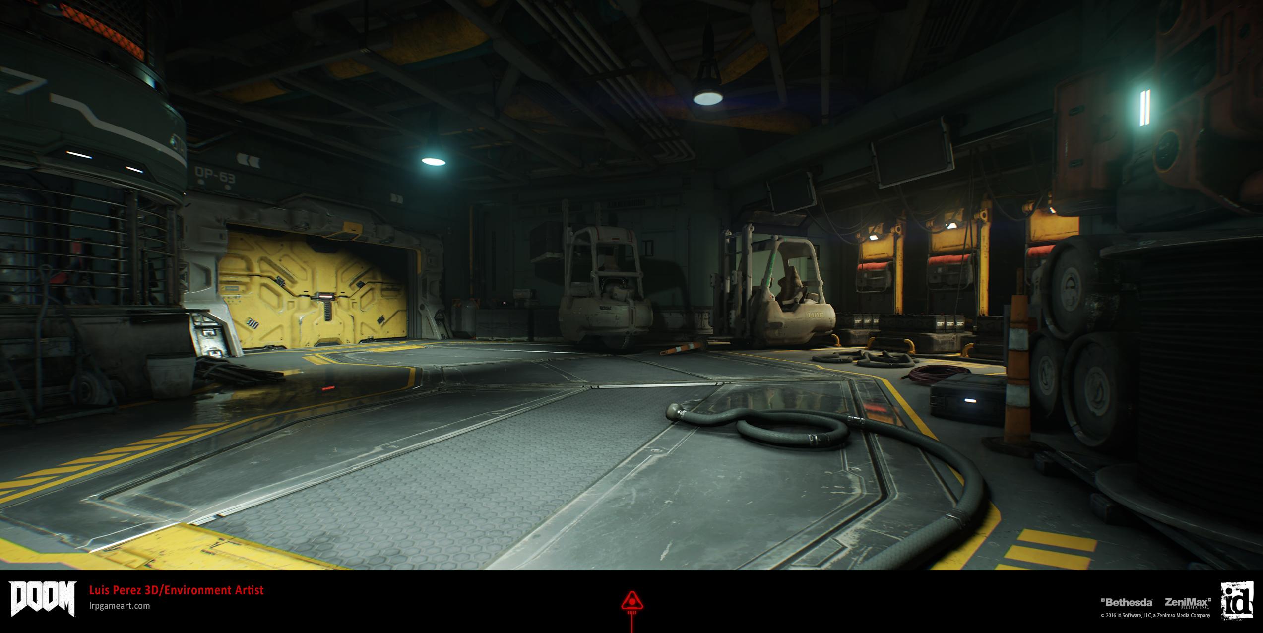 DOOM: Res-Ops Maintenance Bay