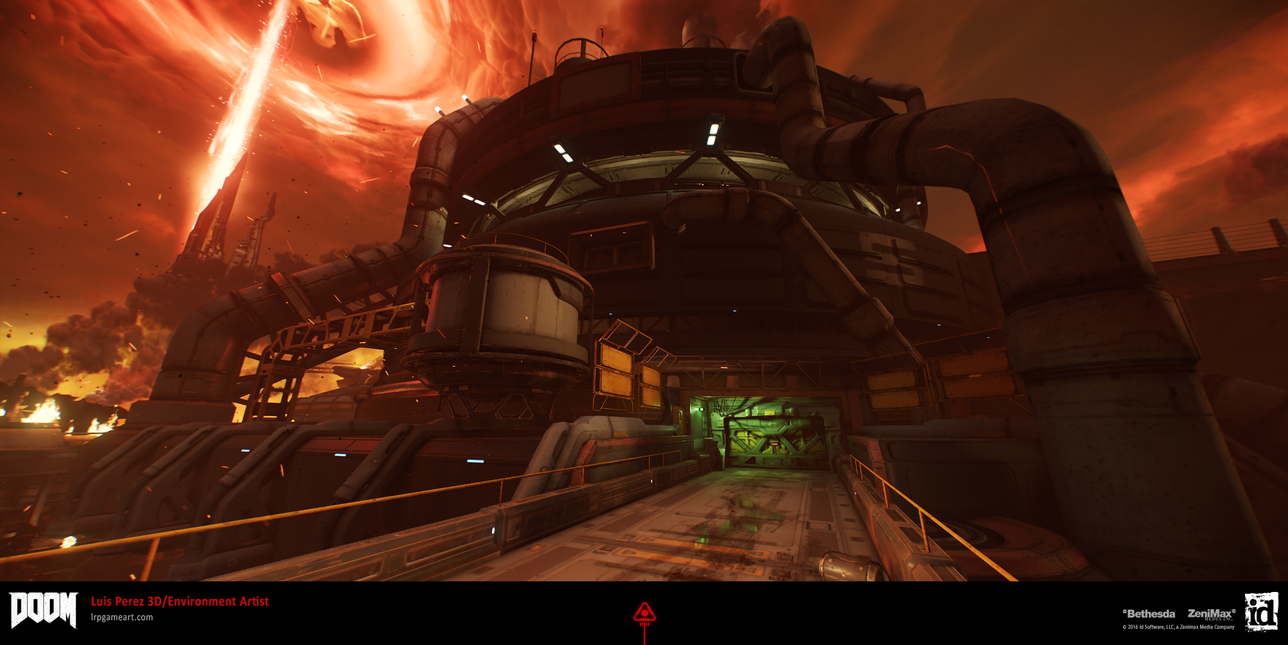 DOOM: Argent Facility Cooling Tower