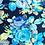 Thumbnail: Vintage Floral Jersey Jumpsuit