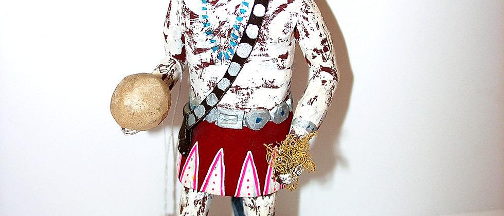 1960 Navajo Yei-bi - Chai Carving