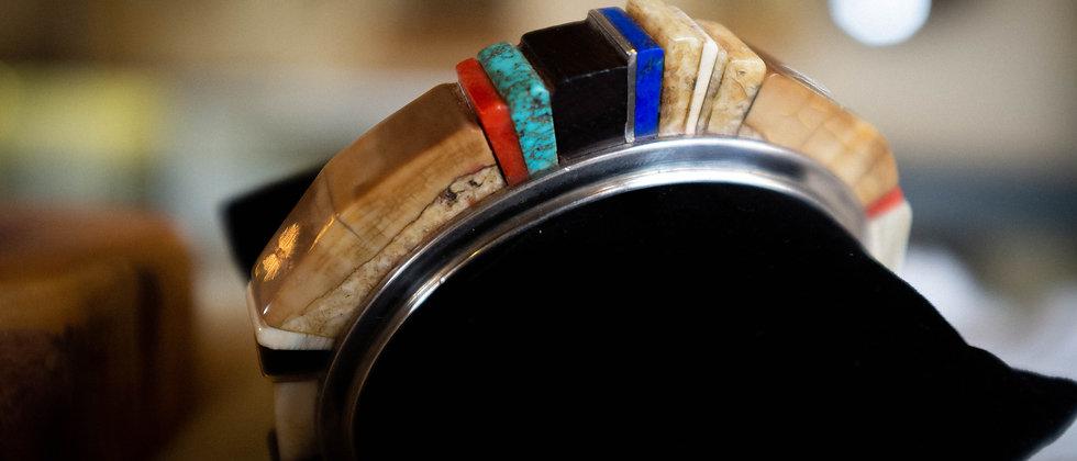 Mastadon Bracelet by Charles Loloma
