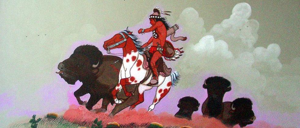 """Navajo """"Buffalo Hunt"""""""