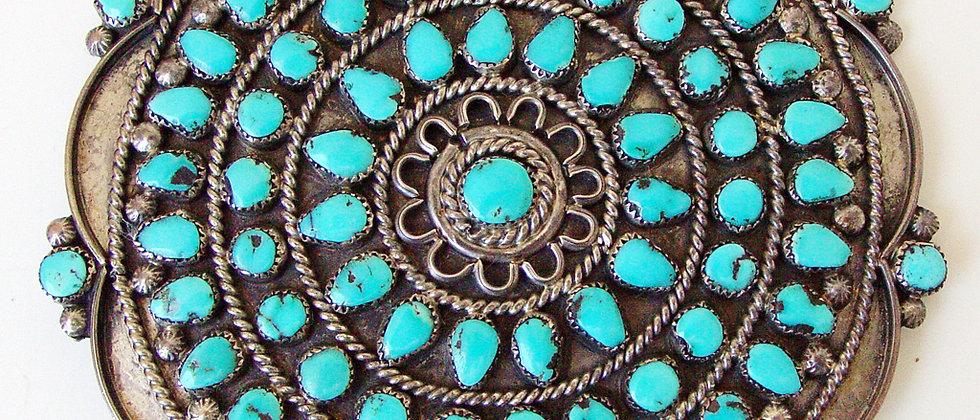 Navajo Cluster Brooch