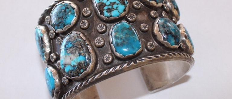 1950s Morenci Turquoise Bracelet