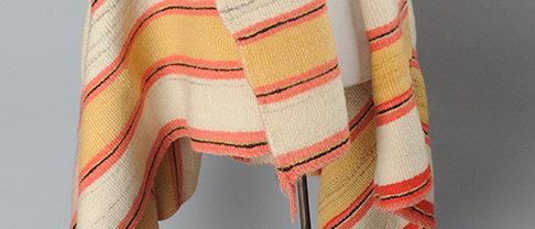 Woman's Wearing Blanket