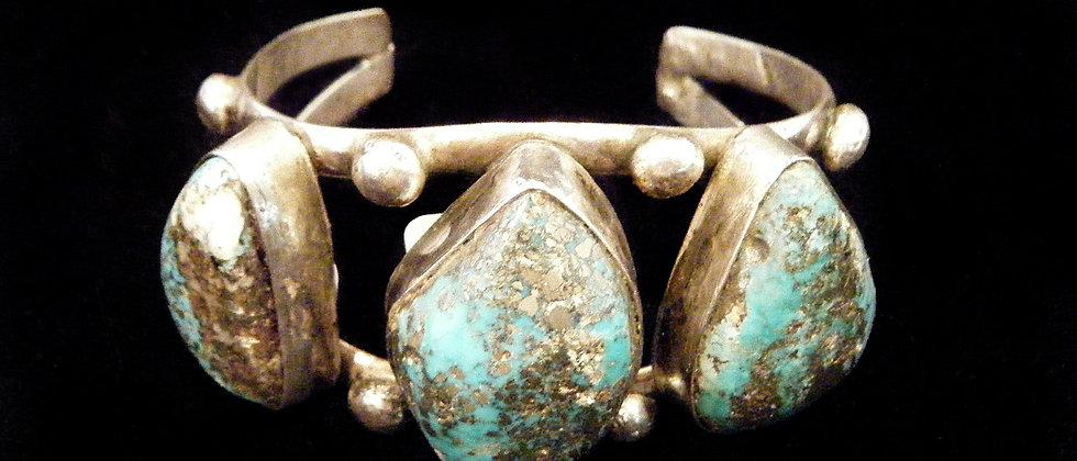 1950 Morenci Turquoise Bracelet