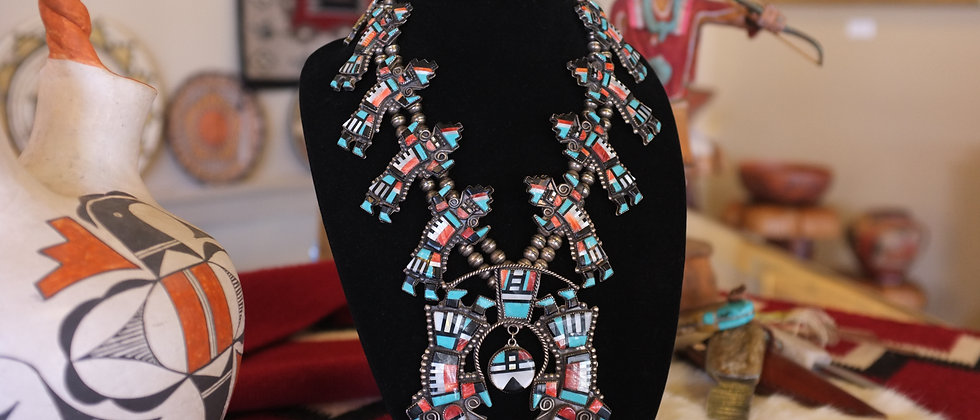 Zuni Rainbow god Necklace