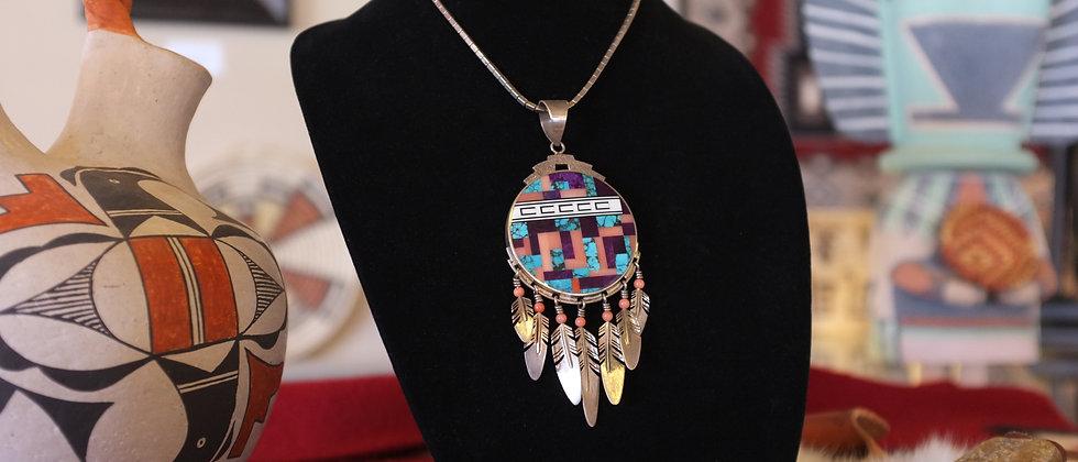 Ray Tracey Navajo Pendant