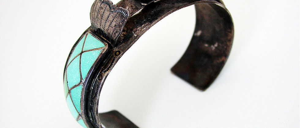 1960s Inlay Watch Bracelet