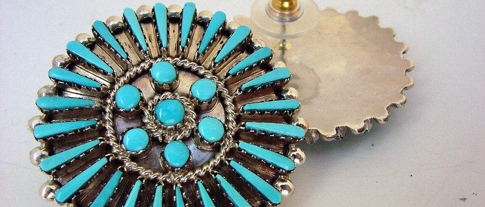 Zuni Cluster Earrings