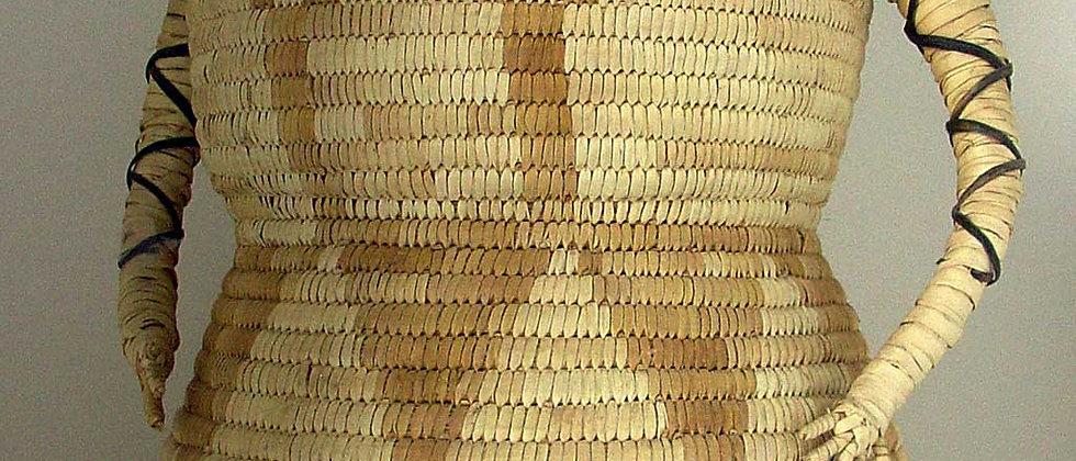 Papago Basket Lady