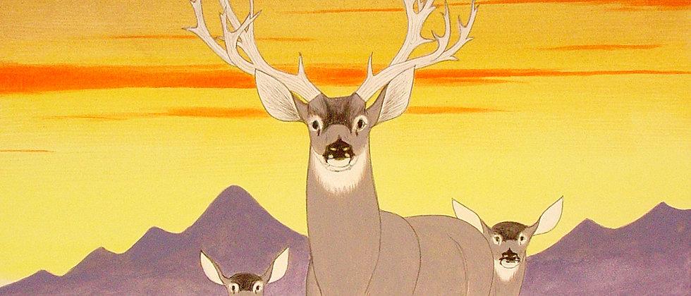 """""""Deer Painting"""""""
