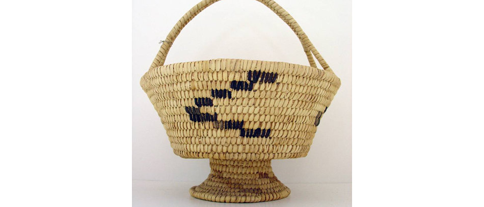 Papago Footed Basket