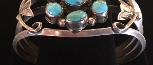 1950s Turquoise Bracelet