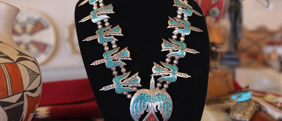 Tommy Singer 'Peyote Birds' Necklace