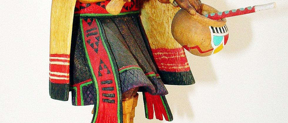 Hopi Nuuva Mana (Snow Maiden) Kachina