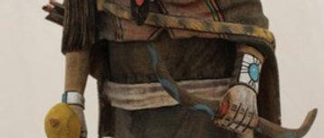 Hopi Warrior Girl Kachina
