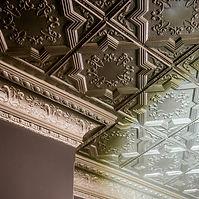 Ceiling of Victoria Hotel