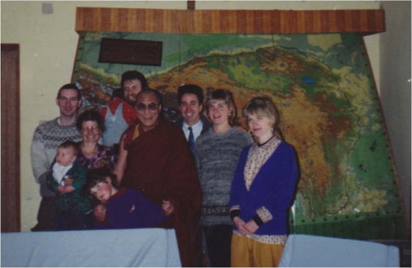 Andrew and Dalai Lama