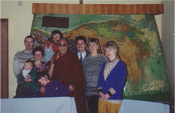 Andrew and Dalai Lama