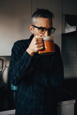morning coffee with Adam