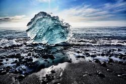Diamond Beach Ice Beach, Iceland