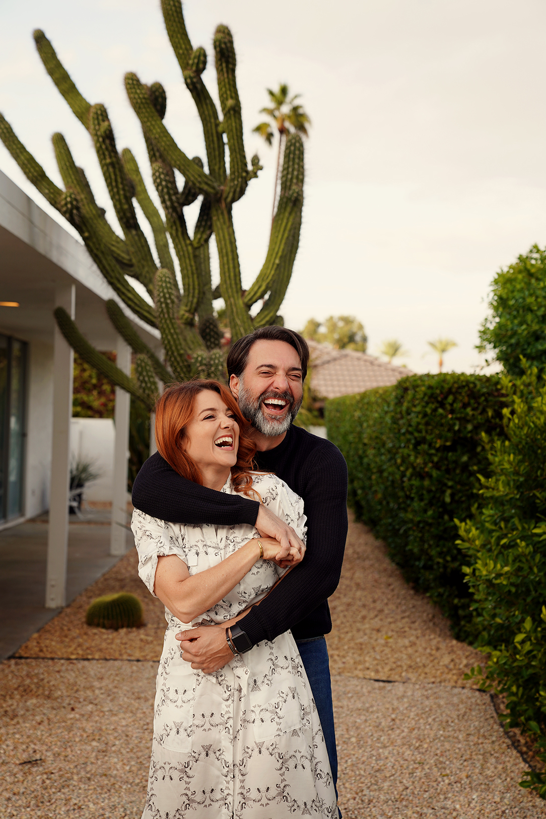 Paul + Sarah in Palm Springs