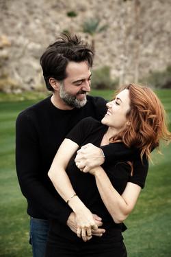 Paul + Sarah in Palm Springs